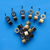 SiliBeads™ (Aluminum Beads w/ Silicon) 2mm ID 50, 250 or 1000 pc
