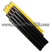 GLUE STICKS, 12 pcs (4 pcs ea Black, Brown and Amber)
