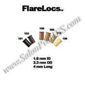 FlareLocs™ 1.8mm ID x 4mm  50, 250 or 1000 pcs