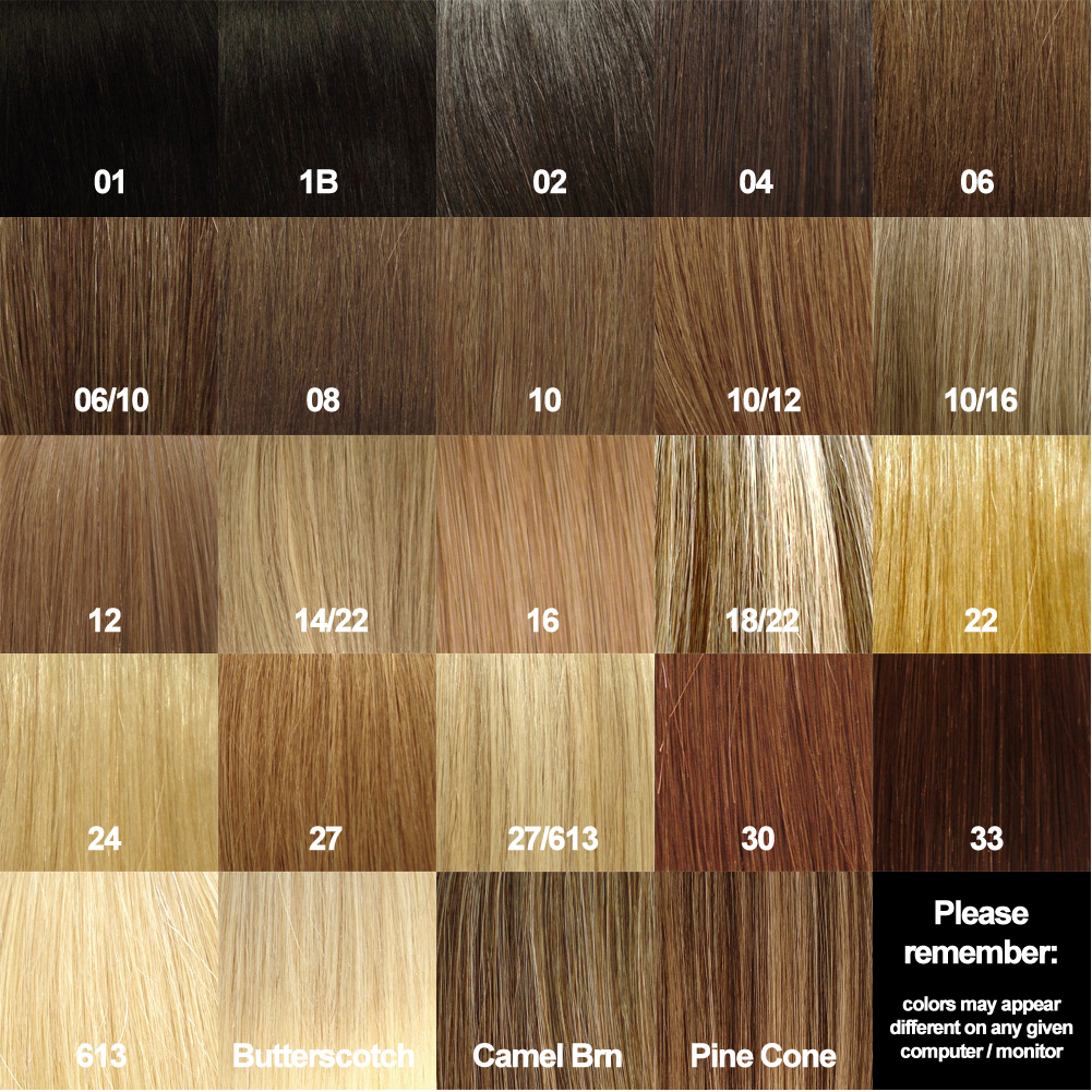 Color Ring Human Hair Extension